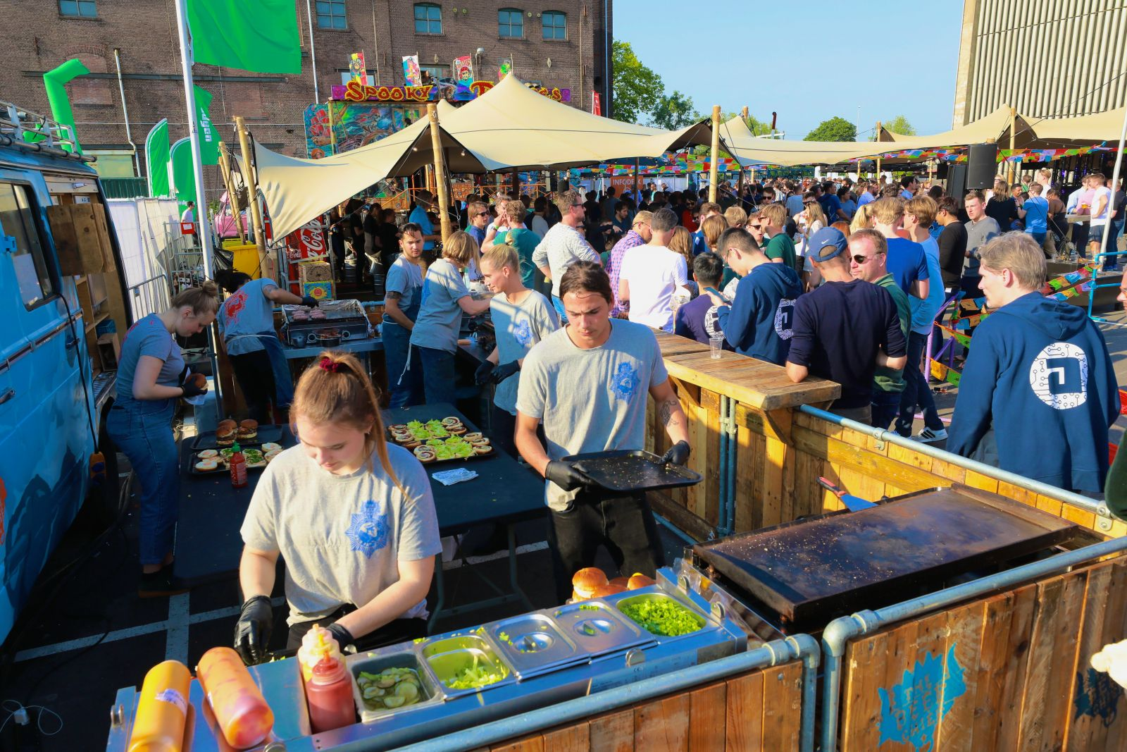 Tips om een bedrijfsfeest te organiseren Mobile Street Food